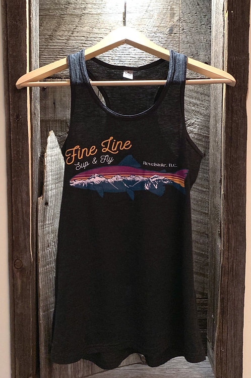 Women's FINE LINE Fish Tank Top