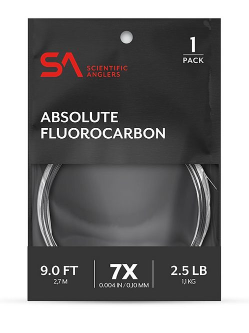 Scientific Anglers  Absolute Fluorcarbon Leader