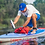 "Thumbnail: Starboard Inflatable Touring  SUP 14""x30""x6"", Deluxe Double Chamber"