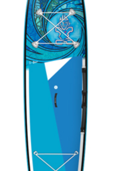 "Starboard Inflatable Touring  SUP,12'6"" x20""x 4.75"", Takhine Deluxe WAVE"