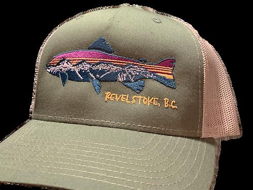 FINE LINE FISH Trucker Cap