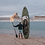 Thumbnail: 2021  ATOLL 11 ft Inflatable Stand Up Paddle Board, Army Green