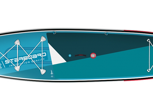 "Starboard Inflatable Touring  SUP 12'6""x30""x6"", Zen"