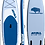 Thumbnail: 2021  ATOLL 11 ft Inflatable Stand Up Paddle Board, Light Blue