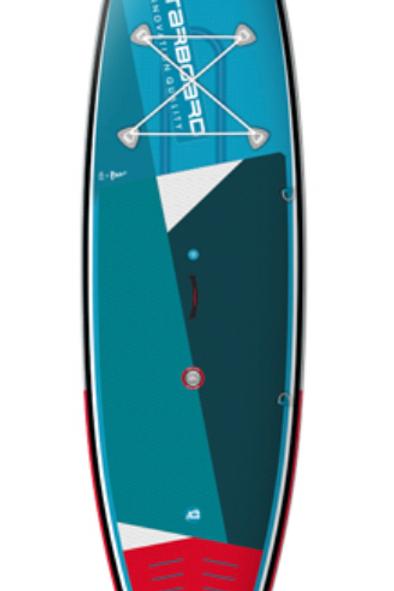 """Starboard Inflatable iGO SUP 10'8""""""""x33""""x5.5"""" ZEN"""