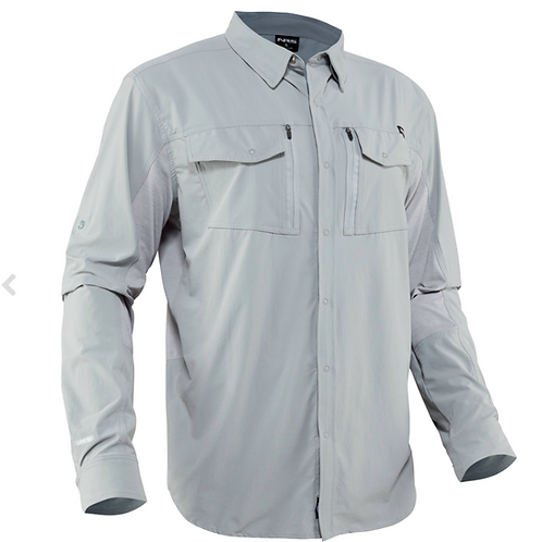 Men's NRS Vermillion Shirt, Quarry