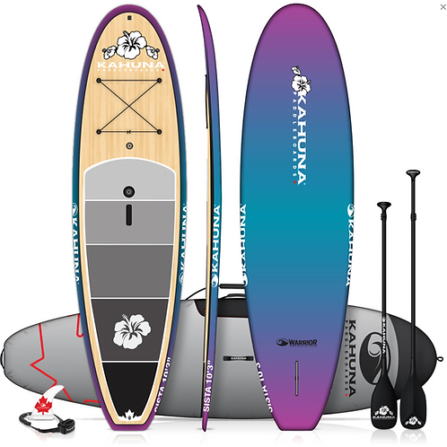 "Kahuna 10'3"" WARRIOR SISTA BAMBOO ZEN All-round board"