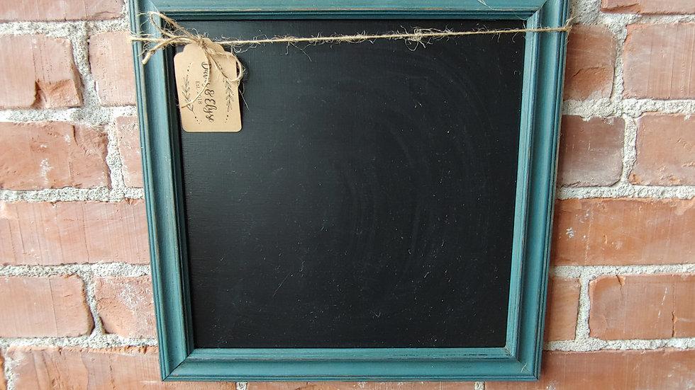 Teal Chalkboard