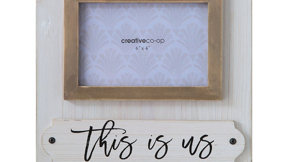 """""""This is us"""" Photo Frame"""