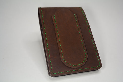 Rover Leather Notepad (Scarred)