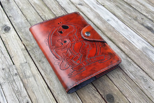 Nightmare before Christmas Leather Journal