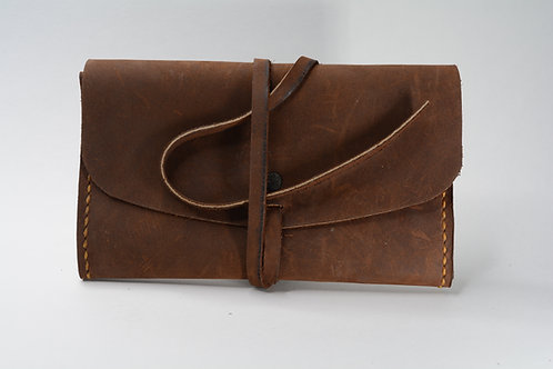 Baccy Leather Tobacco Pouch (Scarred)