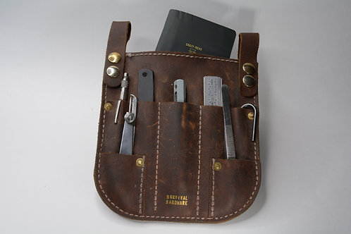 Artisan Light Duty Leather Shop Sporran (black)