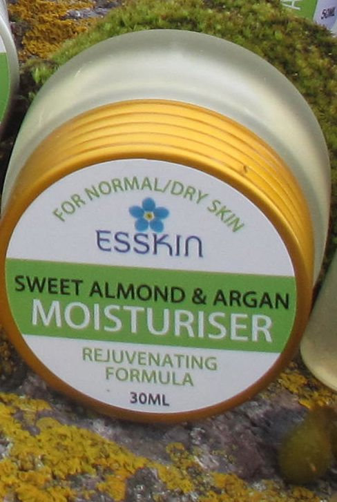 Almond & Argan Moisturiser for Dry Skin