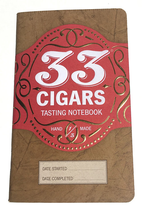 33 Cigars Notebook