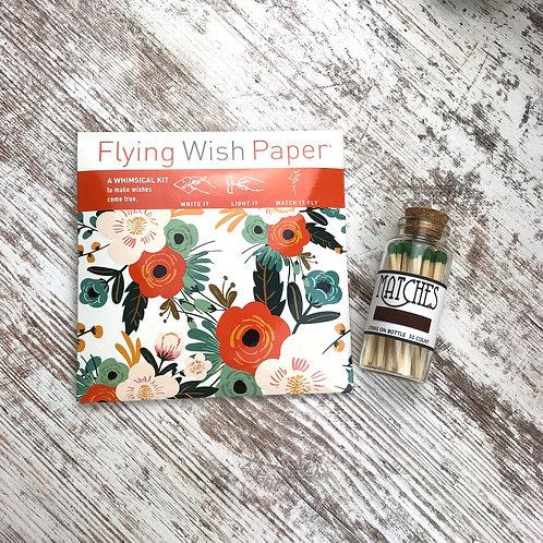 Wish Paper & Matches