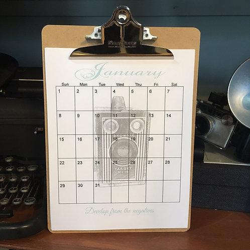 Camera Calendar