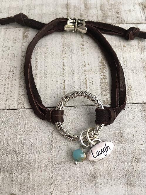 Positive Circle Bracelet