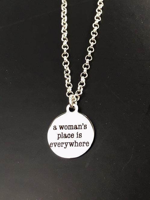 A Woman's Place Necklace