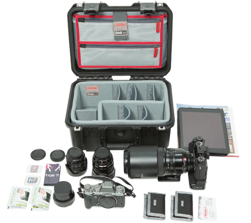 iSeries 1309-6 Case w/Think Tank Designed Dividers & Lid Organizer
