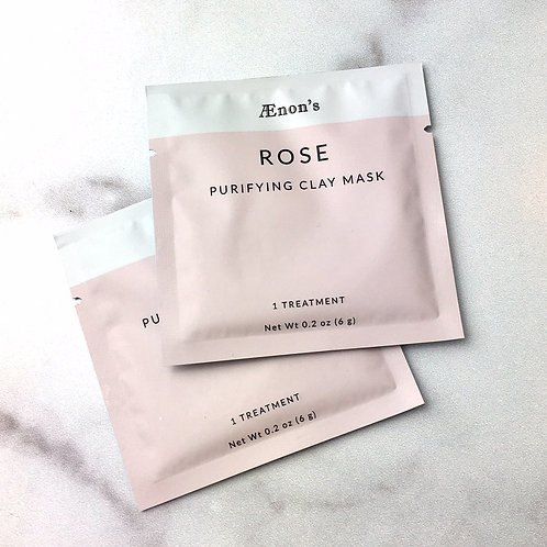 Rose Purifying ClayMask-2 pack