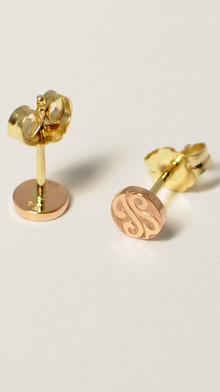 14kt Gold Studs