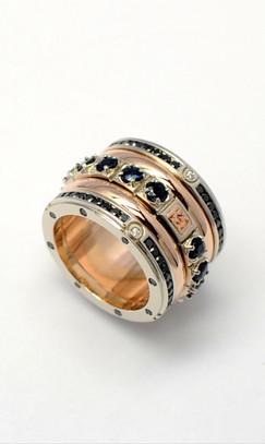 Gold Spinner Ring