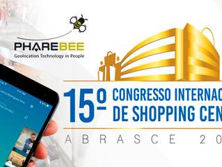 Empresa PhareBee marca presença no 15º Congresso Internacional de Shopping Centers realizado pela Ab