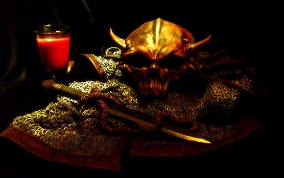 Metal Skull Pauldrons