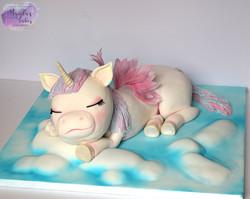 3D unicorn cake, Cake International
