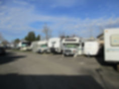View o Vehicles in Windor RV Park's Storage Area