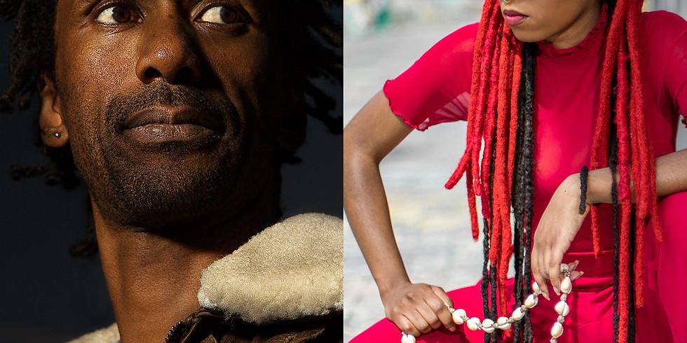 Daby Touré (Mauritanie-Sénégal) et Joyce N'Sana (Congo) - 20 $