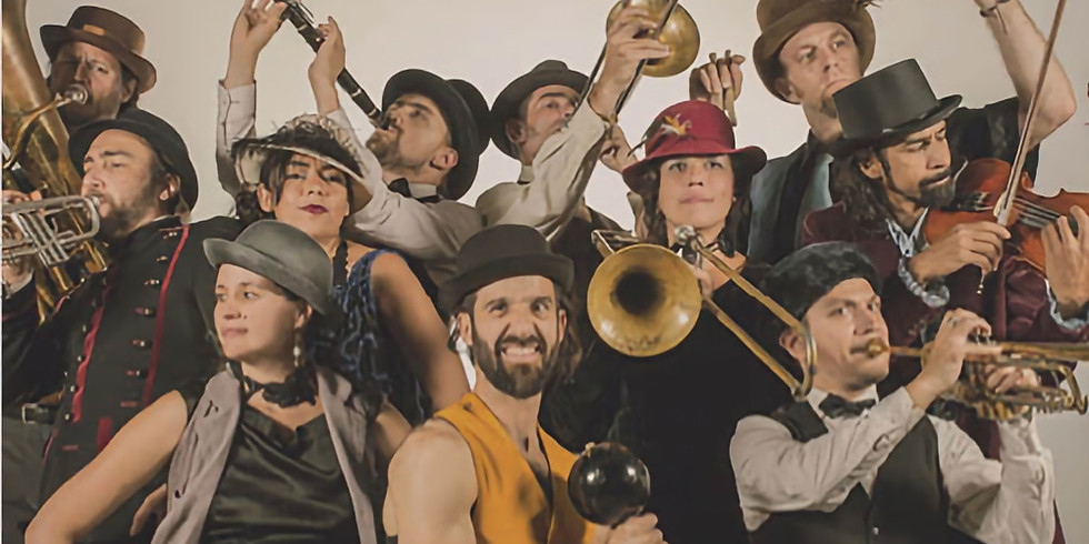 Gypsy Kumbia Orchestra (Colombie-Balkans) - gratuit