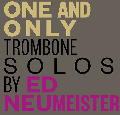 One and Only-Ed Neumeister-Digital Download