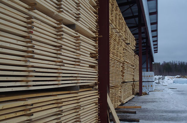 ASTAR sawn timber before drying