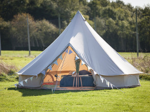 Glamping at The Armchair Adventure Festival