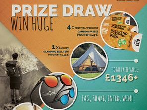 Win The Ultimate Armchair Adventure Festival Experience