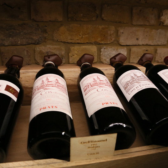Eminent Wines Tasting with Château Cos d'Estournel at Hedonism, UK