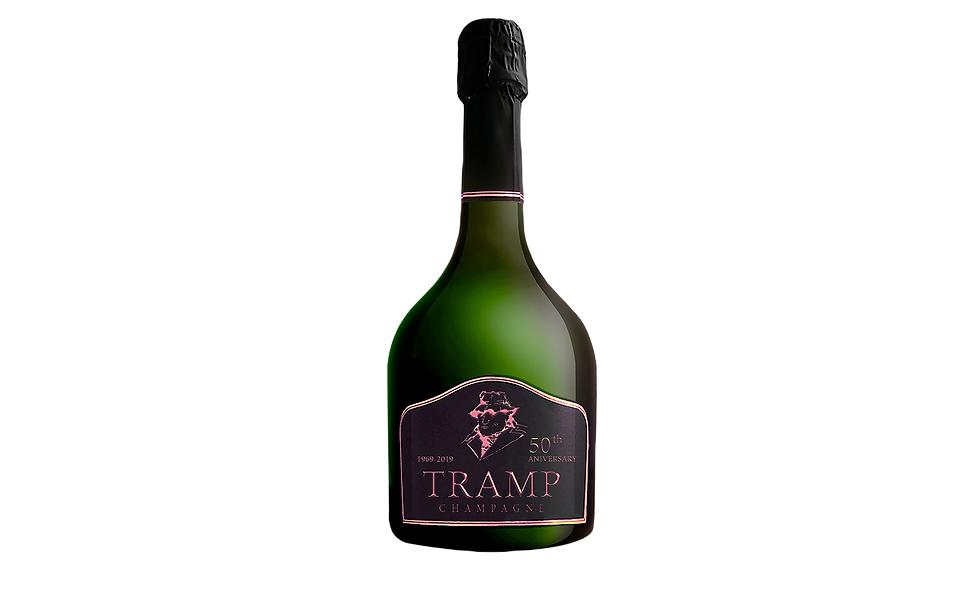Tramp Champagne - Limited Edition 50th Anniversary - Rosé