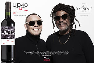 UB40 Red Red Wine by Eminent Life - 2020