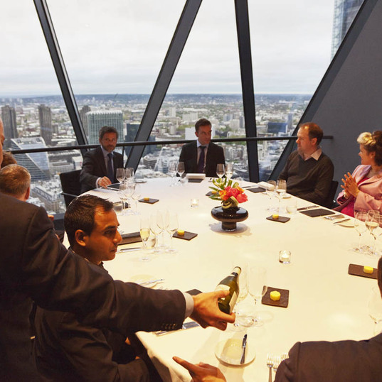 Eminent Wines and Château Cos d'Estournel at The Gherkin, UK