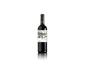 UB40 Red Red Wine Bordeaux ORGANIC 2019-VEGAN 75cl