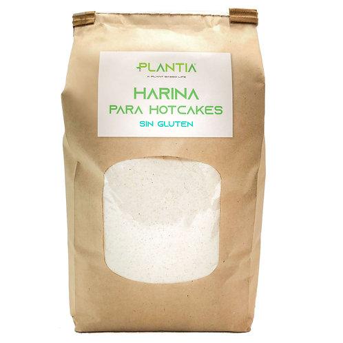 PLANTIA Harina para Hotcakes Sin Gluten 1kg