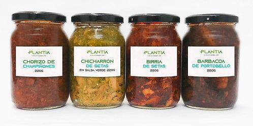 Kit PLANTIA Setas, Portobello y Champiñones | 4 Piezas