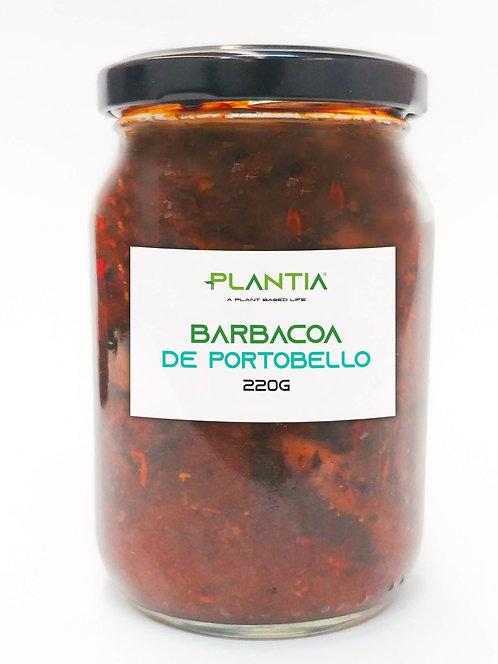PLANTIA Barbacoa de Portobello 220g