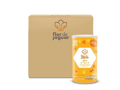 Caja de 20 piezas Flor de Jaguar DFN Tea 150g | $247.5 por pieza