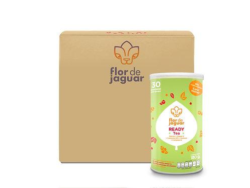 Caja de 20 piezas Flor de Jaguar Ready Tea 180g | $335.7 por pieza