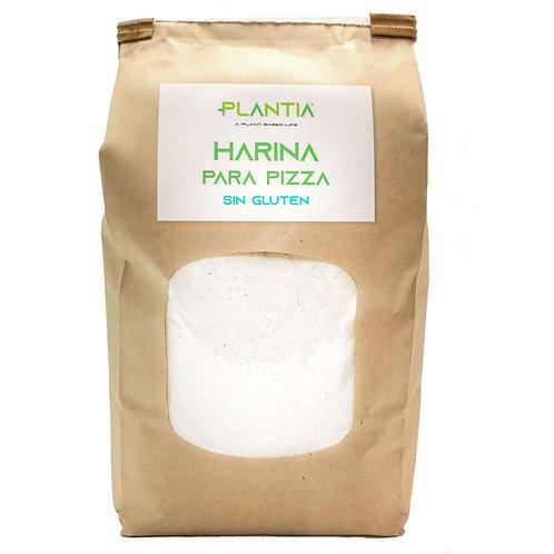 PLANTIA Harina para Pizza Sin Gluten 1kg