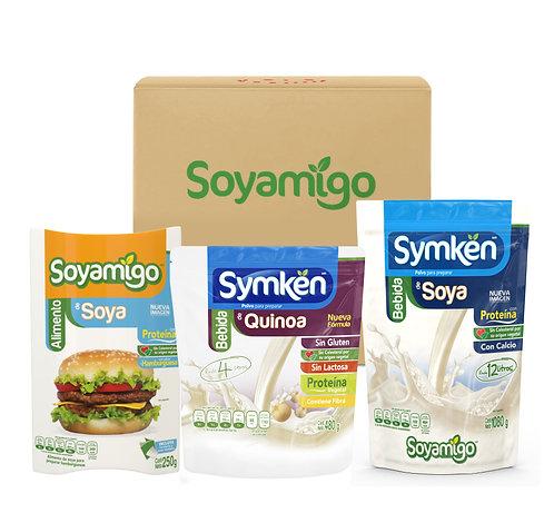 Paquete C - Mix Soyamigo/Symkën | 24 piezas | Personalizable*