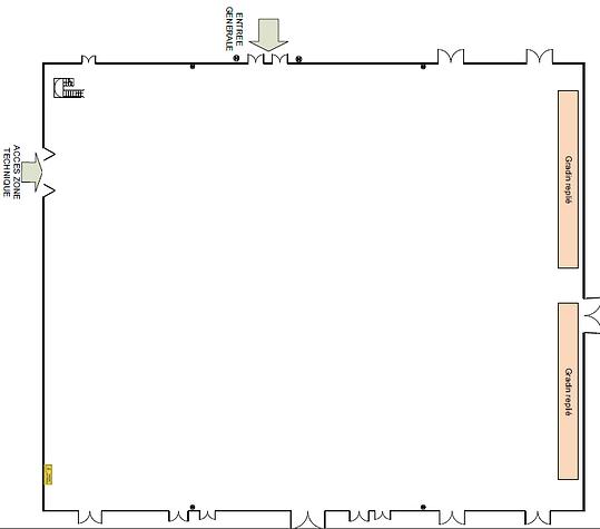 plan hall 2